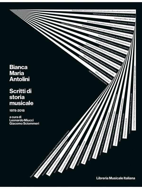 Nuova pubblicazione: Bianca Maria Antolini. Scritti di storia musicale